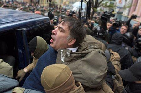 Saakaşvili Ukraynadan çıxarıldı